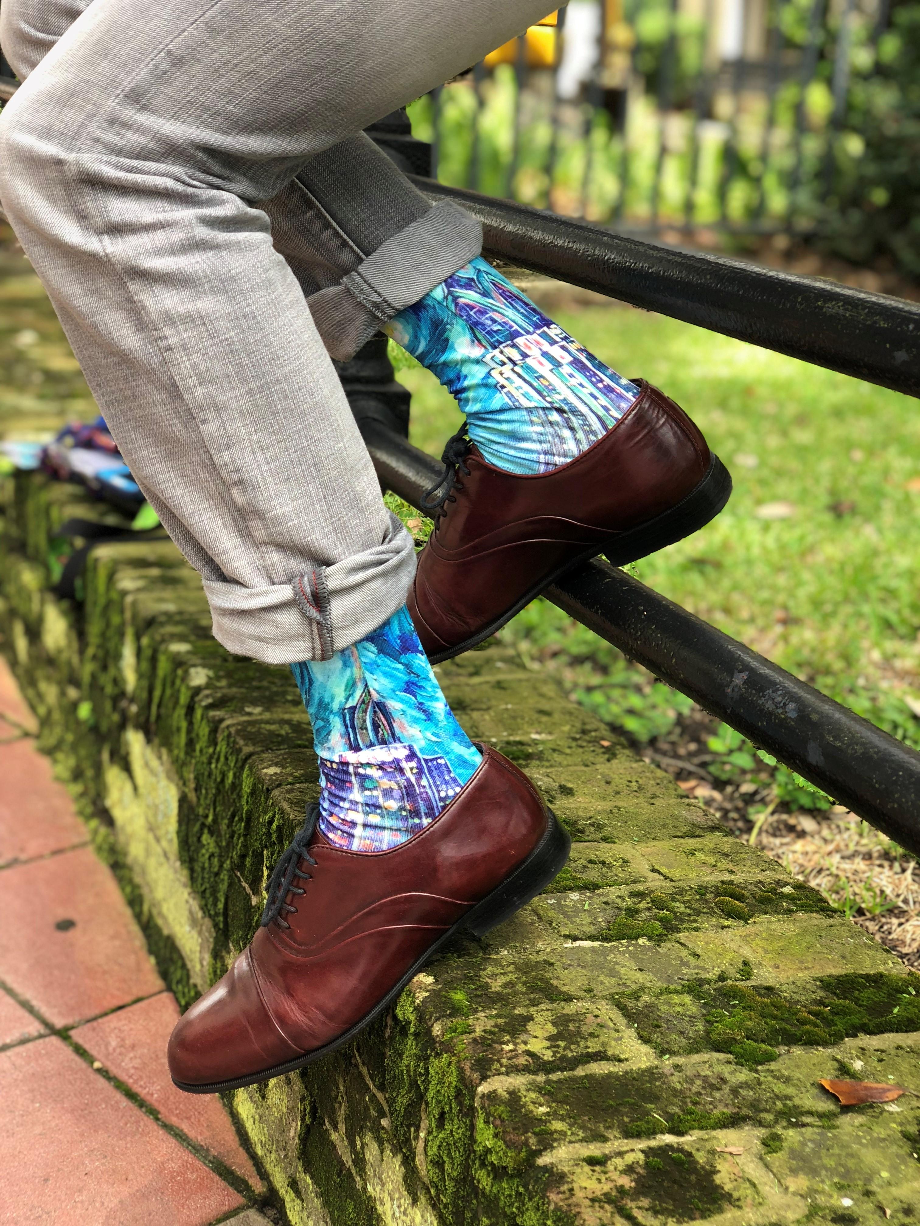 Take The First Step Socks